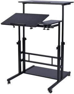 best mobile and portable standing desk 2020