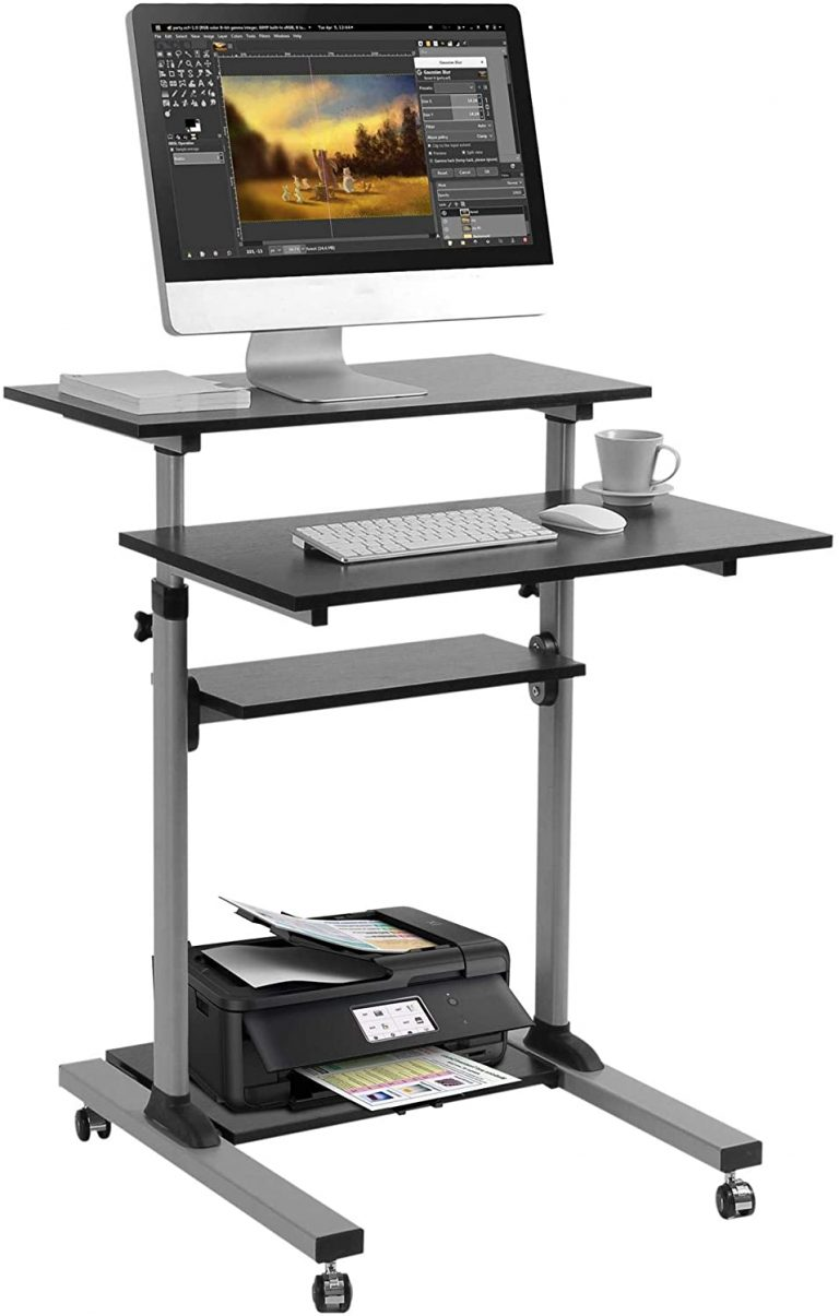 best mobile standing desk